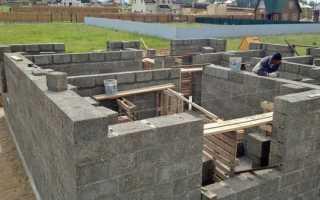 Арболитовые блоки — состав смеси, пропорции для приготовления