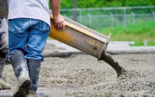 Состав и пропорции бетона на 1м3: марки М200 и М300