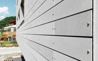 Фибробетонные фасадные панели: производство, монтаж и способы крепежа