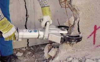 Как разрушить бетон механическим и химическим способами?