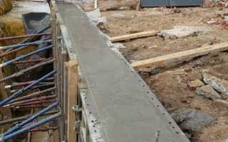Бетонирование фундаментов: земляные работы, приготовление и способы