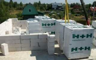 H+H газобетон: использование, преимущества, виды и характеристики