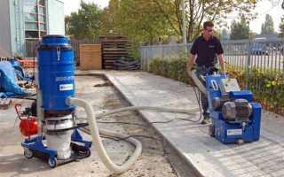 Виды и конструкции фрезеровальных машин и фрез по бетону