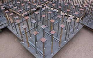 Установка закладных деталей в бетон: сквозная, слепая и применение