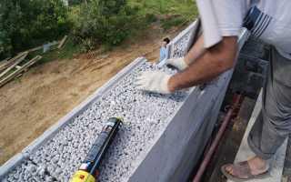Крупнопористый керамзитобетон — свойства и технология изготовления