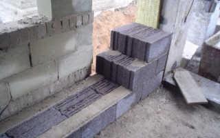 Кладка керамзитобетонных блоков своими руками: схема