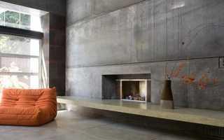 Штукатурка декоративная под бетон — выбор состава и его нанесение