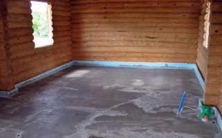 Пол в бане из бетона: требование, конструкция и заливка