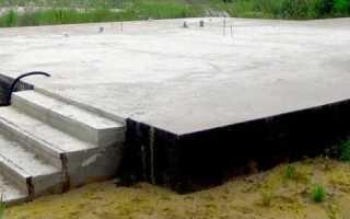 Железобетонная монолитная плита фундамента: виды и процесс установки