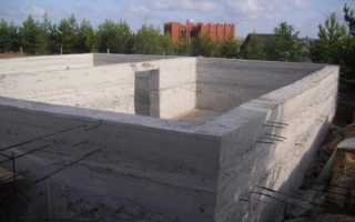 Цокольный этаж из монолитного бетона: технология строительства и монтаж