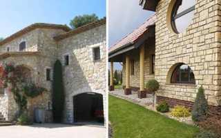 Облицовка дома натуральным камнем — плюсы, минусы