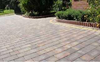Виды тротуарной плитки, из чего ее делают и как производят