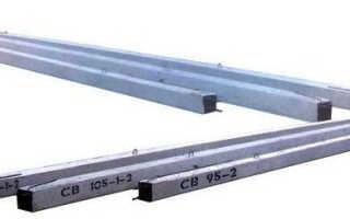Стойка железобетонная СВ 95/105/110/164: назначение и изготовление