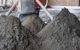 Чем отличается бетон от раствора: состав и применение