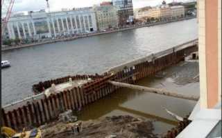 Можно ли залить бетон в воду: методы и способы заливки