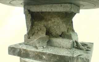 Прочность бетона на сжатие: характеристики марки и класса