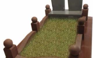 Цветник на могилу из бетона: виды, размеры и установка
