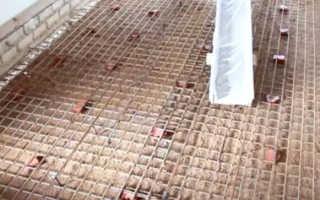 Армирующая сетка для бетонного пола: металлическая и стекловолоконная