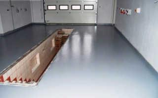 Чем покрыть бетонный пол в гараже: требования к материалу