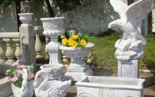 Изделия из бетона: гриб, ваза и способы приготовления