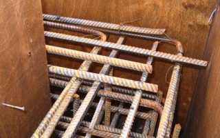 Армирование углов ленточного фундамента — схемы и правила вязки