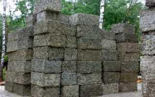 Арболит бетон: характеристики, состав и изготовление своими руками