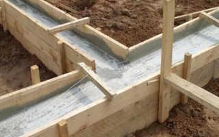 Как рассчитать количество бетона для фундамента: примеры