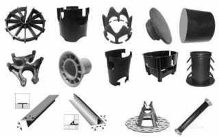 Фиксатор защитного слоя бетона арматуры: пластиковые, металлические и из фибробетона