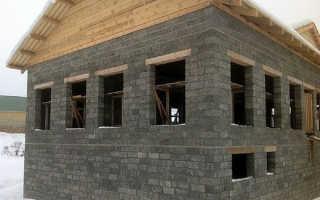 Дом из арболита своими руками — кратко об этапах строительства