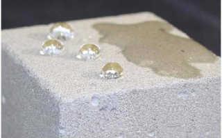 Гидрофобизатор для бетона: типы и принцип действия
