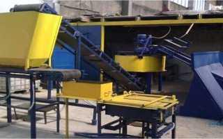 Оборудование для производства арболита — перечень и описание
