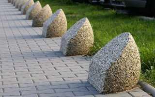 Мытый бетон — технология производства своими руками