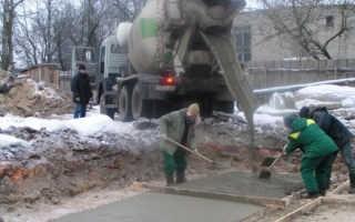Противоморозная добавка в бетон: советы по выбору и возможные виды