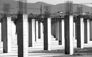 Бетонные колонны: виды, особенности и этапы строительства
