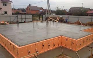 Как рассчитать бетон на плиту фундамента?