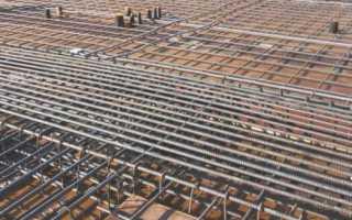 Армирование бетона: монолитное, дисперсное и, с помощью сетки