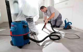 Промышленные пылесосы для бетонной пыли — разновидности, выбор