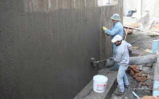 Обмазочная гидроизоляция для бетона: виды, требование и применение