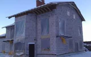 Консервация дома из газобетона на зиму