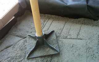 Ручная трамбовка для уплотнения грунта и песка своими руками