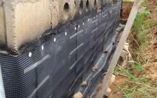 Гидроизоляция бетона фундамента: горизонтальная и вертикальная
