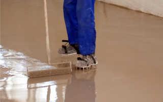 Выравнивающие смеси для бетонного пола: виды, состав и производители