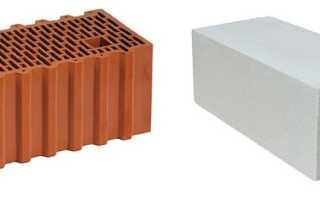 Сравнение газобетона и теплой керамики — обзор характеристик