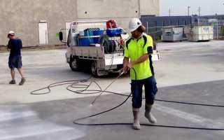 Уход за бетоном после в зимнее и летнее время