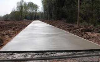 Тощий бетон: состав, применение и правила работы