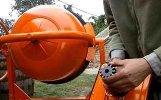 Ремонт бетономешалки своими руками: инструментарий