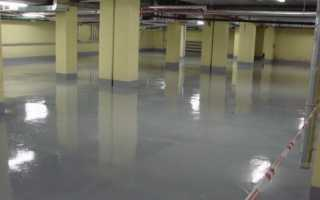 Эмаль для бетонных полов: классификация, характеристики и нанесение