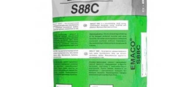 ЭМАКО смесь для бетона (EMACO): марки и их характеристики