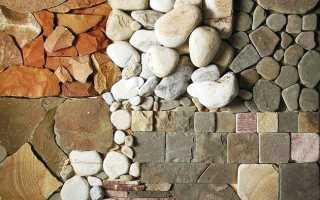 Искусственный камень своими руками — состав, формы, изготовление