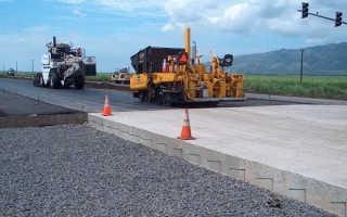 Дорожный бетон: требования, состав, свойства, производство и укладка